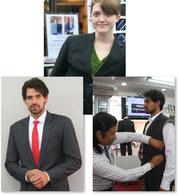 collage of our clients