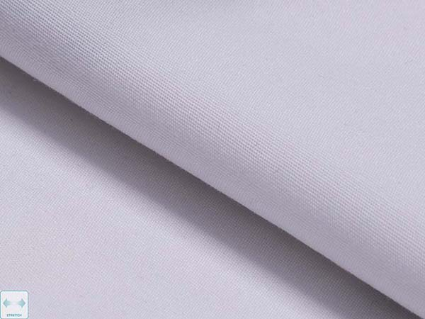 2_180B01-1 White STRETCH FABRIC