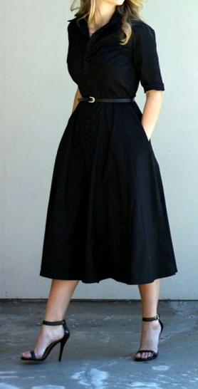 25 Amazing Casual Black Dress Outfits