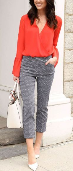 Latest Office & Work Outfits Ideas for Women (3) (2)