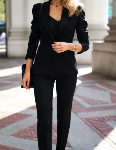 Latest Office & Work Outfits Ideas for Women (9)